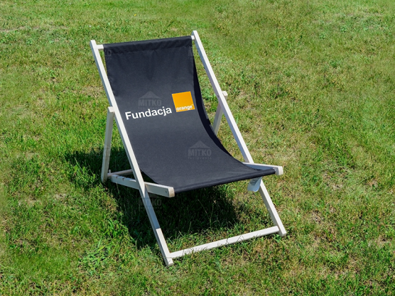 Deck Chair Orange
